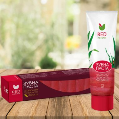"Tooth paste ""Red Natural"" with Red Fruit Oil (100 g)"